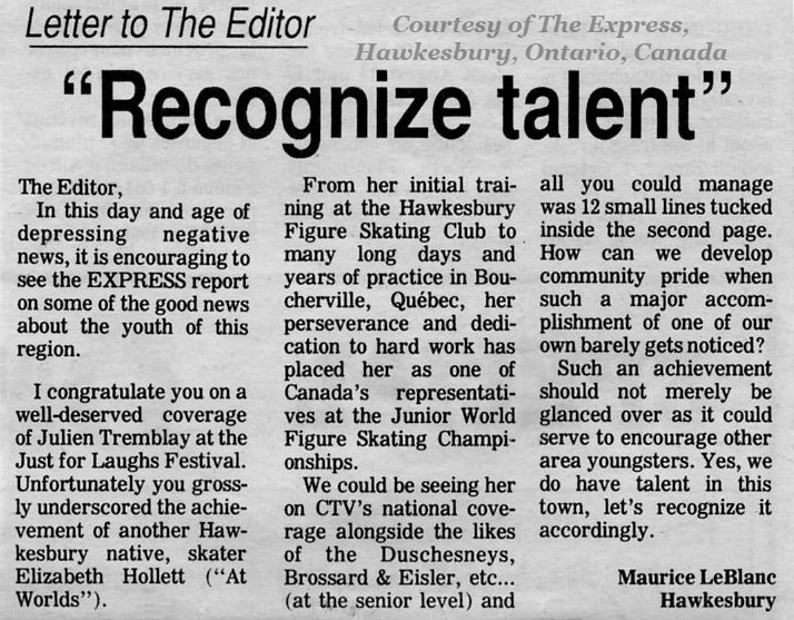 hollett shackett 39 s figure skating resume recognize talent article